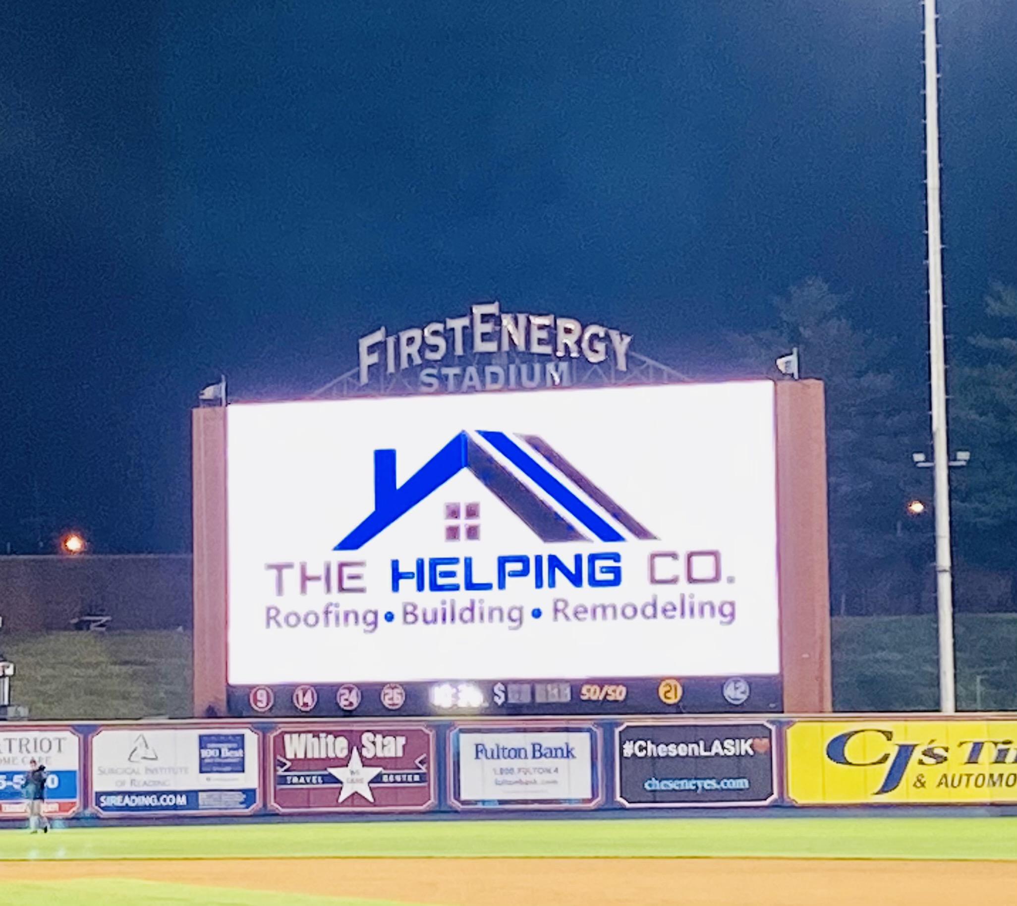 The Helping Company | First Energy Stadium | Fightin Phils | Community Outreach